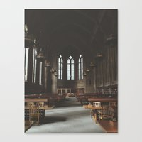 hogwarts Canvas Prints featuring Hogwarts.  by Zach Reed