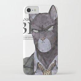 Polygonal Cat - Blacksad iPhone Case