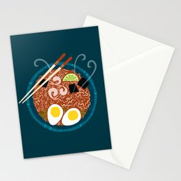 Ramen Noodles for Lunch Stationery Cards