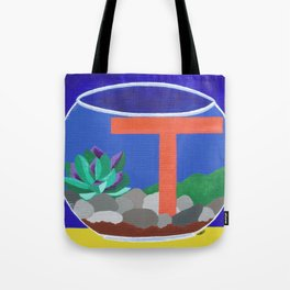 T is for Terrarium  Tote Bag
