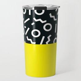 Memphis pattern 51 Travel Mug