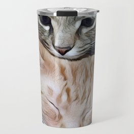 Snuggling Kittens Travel Mug