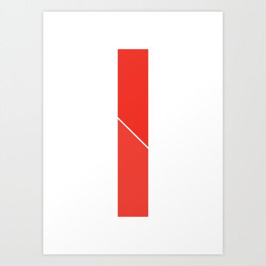 Life's Division Equation Art Print