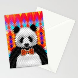 Geo Panda Stationery Cards