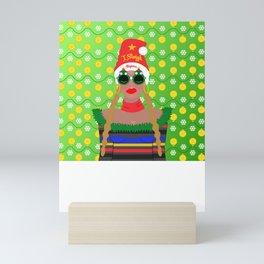 I Sleigh Mini Art Print