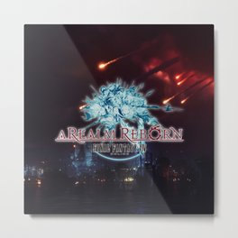 A REALM REBORN - FINAL FANTASY Metal Print
