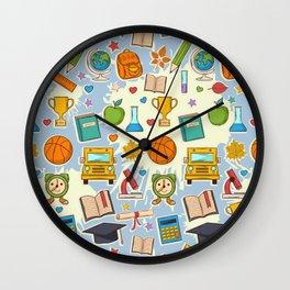 School Cool Wall Clock
