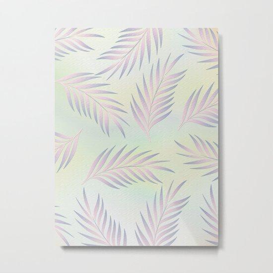Palm Leaves 2 Metal Print