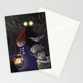 into the unknown Stationery Cards