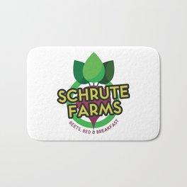 The Office - Schrute Farms Custom Logo Bath Mat