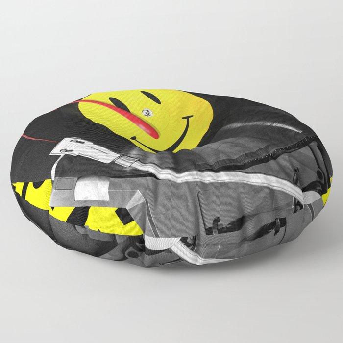 """""""Bloody Turntable"""" Watchmen fan art Floor Pillow"""