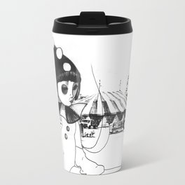 Pierrot the clown Travel Mug