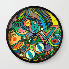 Krazy Kitchen! Wall Clock