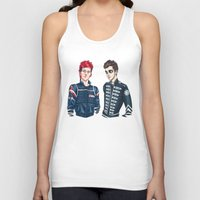 my chemical romance Tank Tops featuring My Chemical Pilots by poweredbycokezero