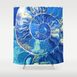 madagascarblue Shower Curtain