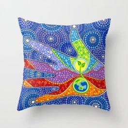 Earth Keeper Throw Pillow