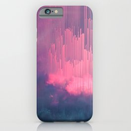 Sweet Stormy Glitches iPhone Case