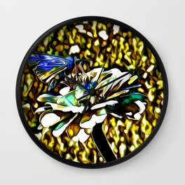 The Skipper Butterfly As A Jewel Wall Clock