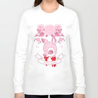 kendrawcandraw Long Sleeve T-shirts featuring Little Bambi by kendrawcandraw
