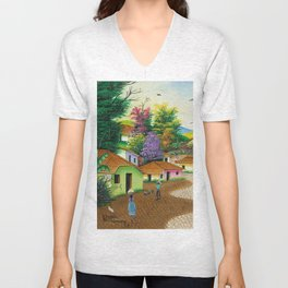 Lolito's Village #1 Unisex V-Neck