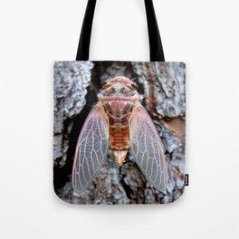 Annual Female Cicada Tote Bag