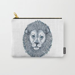Blue Eyed Lion Carry-All Pouch