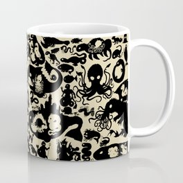 Size Chart of Sea Monsters Coffee Mug
