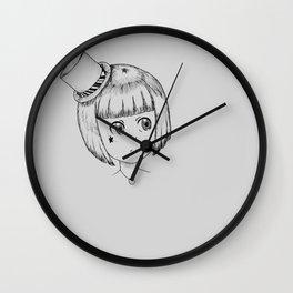 Manga Girl Wall Clock