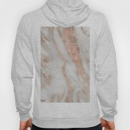 Civezza rose gold marble quartz Hoody