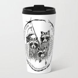J20 solidarity raccoons Travel Mug