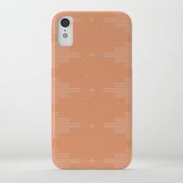 Southwestern Minimalist Terra Cotta  iPhone Case
