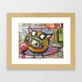 I Don't Know How This Happened Framed Art Print