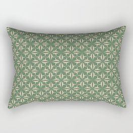 Eryn Green Collection Rectangular Pillow