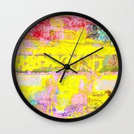 Rocketship Lip Kisses Wall Clock