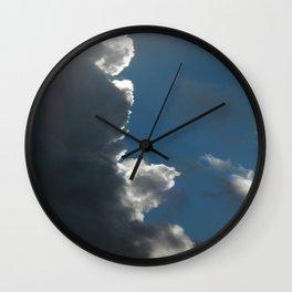 Storm Brewing! Wall Clock
