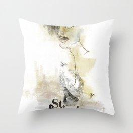 Saintly Throw Pillow