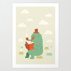 The Cloud Creator Art Print