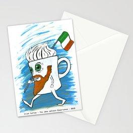 Irish Coffee Mug Stationery Cards