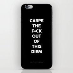 Carpe  iPhone & iPod Skin
