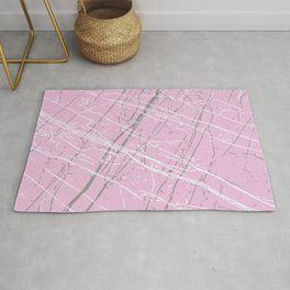 Pirouette, Ultimate Gray & Lucent White Rug