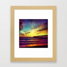 Hermosa Colors Framed Art Print