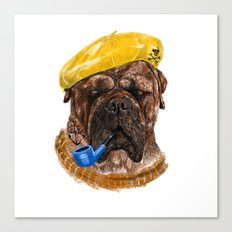 Mr.Boss Canvas Print