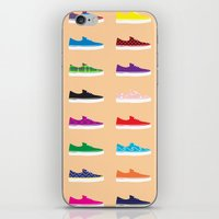 vans iPhone & iPod Skins featuring Vans by Kayla Ivey