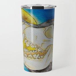 WOLFPACK (watercolor) Travel Mug