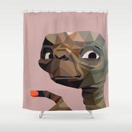 E.T. graphic | feyerabend illustration Shower Curtain