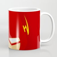 flash Mugs featuring Flash by Oblivion Creative