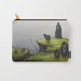 Ruins - green Carry-All Pouch