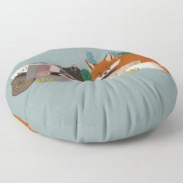 Music of the woods Floor Pillow