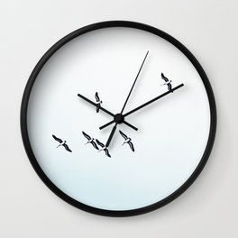 High in the sky Wall Clock