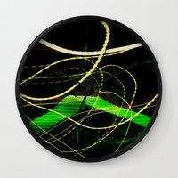 sonic Wall Clocks featuring Sonic Waves by Jonathan Wright Productions